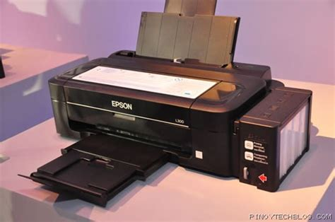 Printer Epson L300 Second epson launches new l series ink tank system printers tech philippines tech news