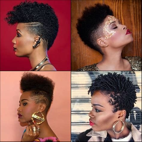 black short hair fades for woman fade to black women haircuts edgy and sexy look 187 new