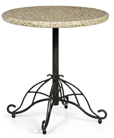 smith patio table smith cherry valley bistro table outdoor living