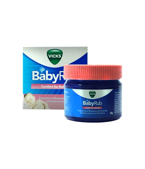 Vicks Baby Balsam vicks babyrub 50g pharmacy