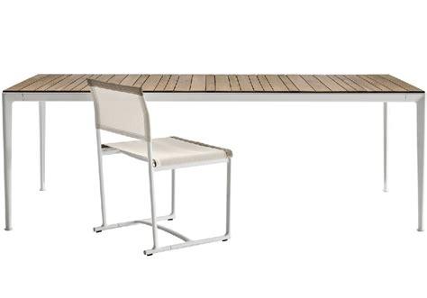 tavolo b b mirto tavolo in legno iroko b b italia milia shop