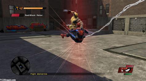 imagenes de spiderman web of shadows review spider man web of shadows