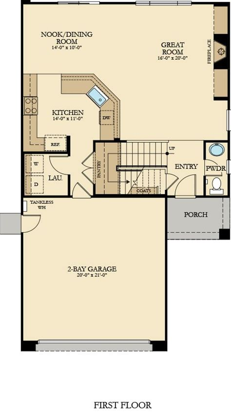 sage floor plan residence 2 new home plan in sage at rosena ranch by lennar