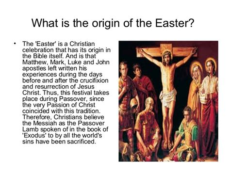 what is significance of easter easter origins