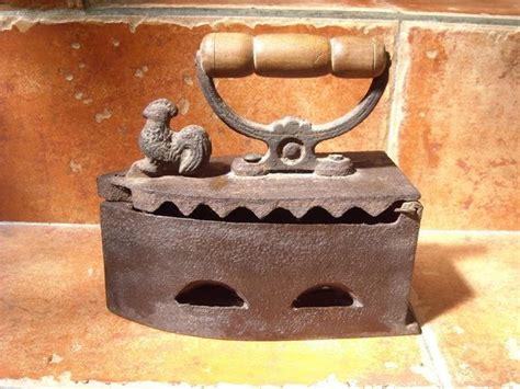 setrika arang barang antik history