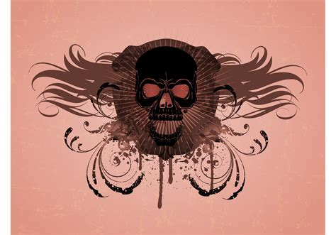 skull vector graphics   vector art stock
