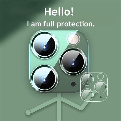 camera lens full cover protective clear tempered glass