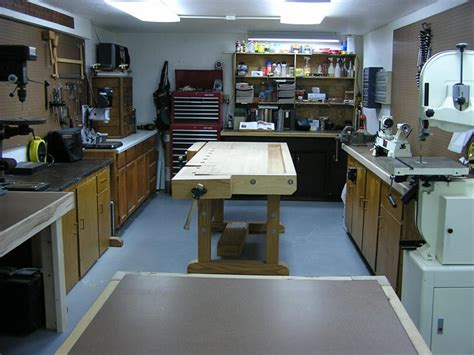setting up a small woodworking shop s basement woodshop shop tour the wood whisperer