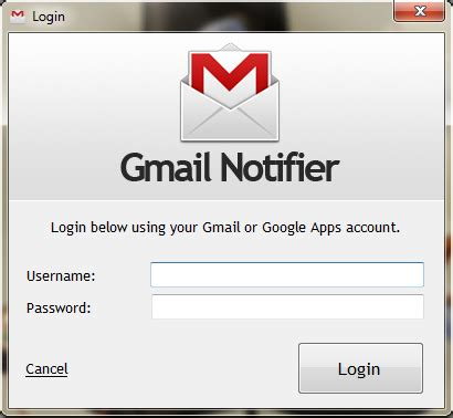 bring your gmail to windows 7 taskbar using kwerty notifier