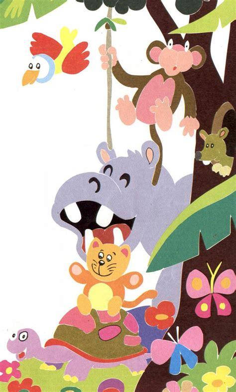 imagenes infantiles animales dibujos infantiles de animales im 225 genes de animales
