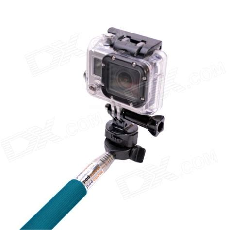 Gopro Iphone cat portable 3 in 1 monopod for gopro sj4000 iphone samsung blue