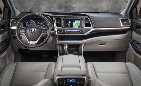 Toyota Highlander 2015 Interior 2015 Toyota Highlander Interior Image 225