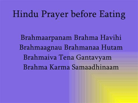 hindu prayer hinduism one god many forms