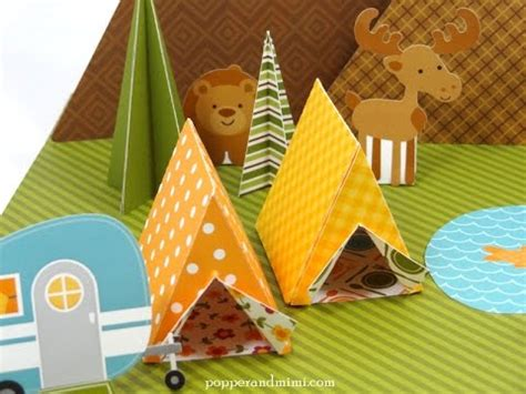 How To Make A Paper Tent - how to make an origami tent