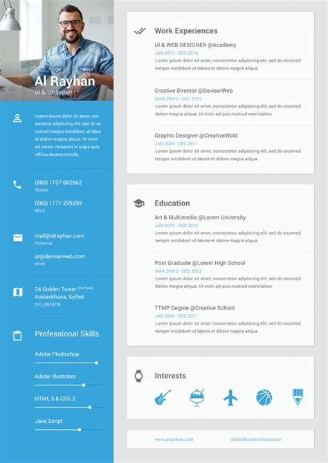 ui designer resume sle the world s catalog of ideas