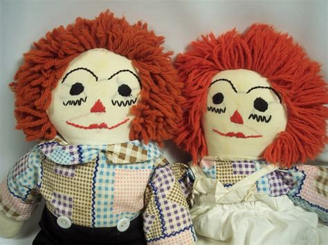 Handmade Raggedy And Andy Dolls - 17 best images about raggedy andy on doll
