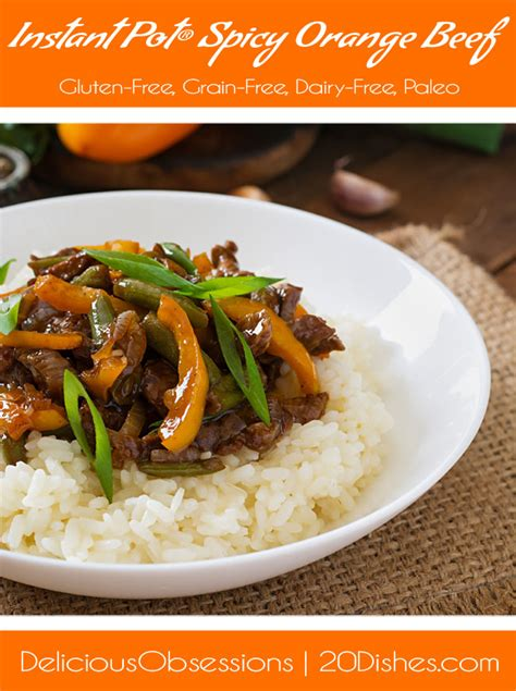 instant pot orange chicken paleo instant pot spicy orange beef gluten free grain free
