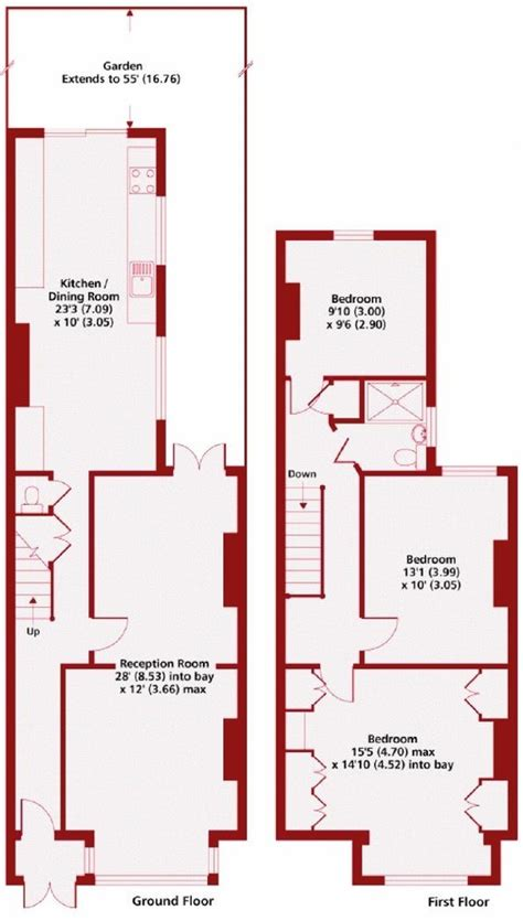 5 Bedroom 2 Story House Plans 3 bed 1930 s terraced house full paint amp decorate