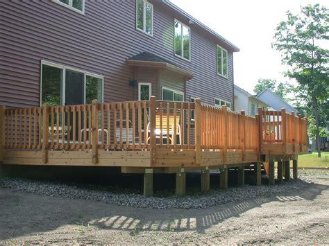 deck house decks 171 dream builders remodeling