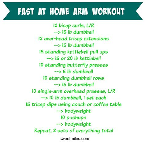 arm workouts at home most popular workout programs
