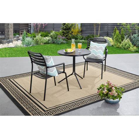 outdoor bistro sets walmart set clearance