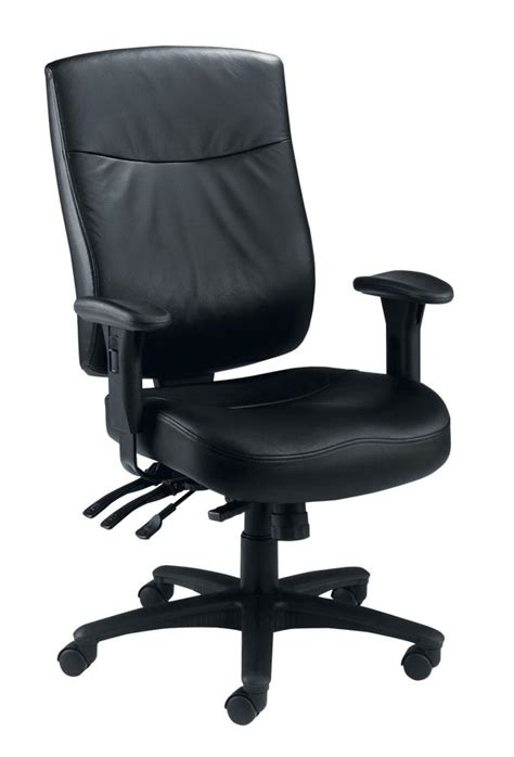 24h stuhl marathon 24 hour leather office chair