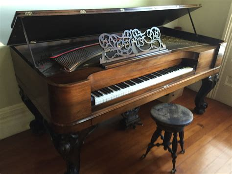 Square Piano square grand piano george steck for sale antiques