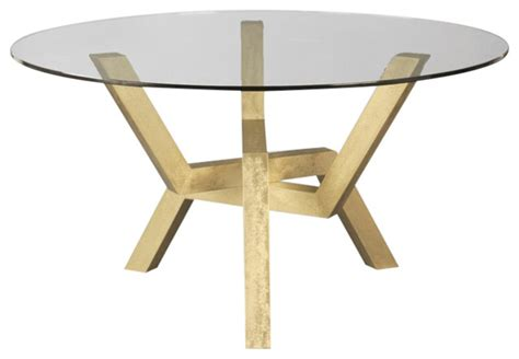 cleo glass top dining table contemporary dining