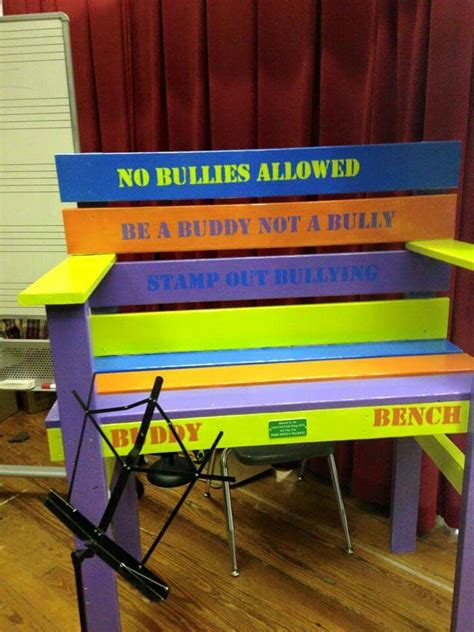 what is a buddy bench 1000 images about buddy bench on pinterest friendship