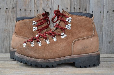 vintage dexter rough outs suede  mountaineer hiking