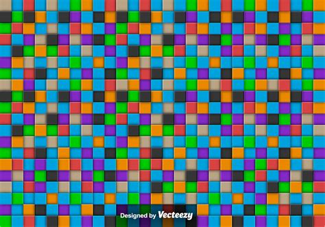 colorful tile vector abstract background with colorful tiles