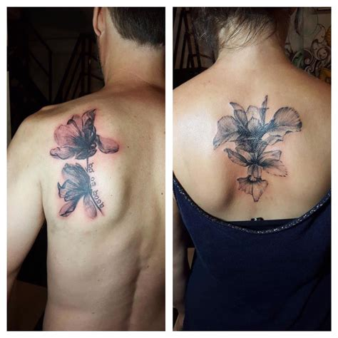 couple back tattoos 80 inspiring ideas to express your lovely in