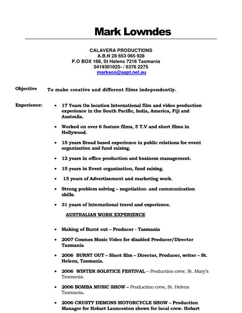 Production Assistant Resume by Production Assistant Resume Sle Smsingyennet Cmnkfq