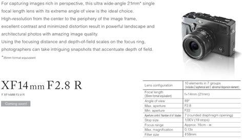 Fujifilm Fujinon Xf 50 140mm F2 8r detailed specs of the fujinon xf 18 55mm f 2 8 4 ois and