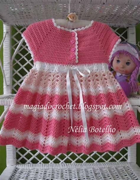 Magiadocrochet Blogspot   vestido em crochet para beb 233 em http magiadocrochet