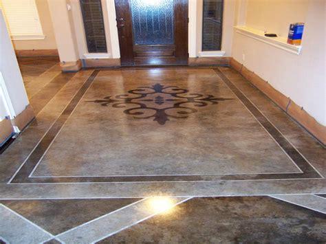patio floor design ideas cement patio designs stained concrete floor designs