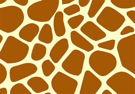 giraffe pattern vector download free vector art stock
