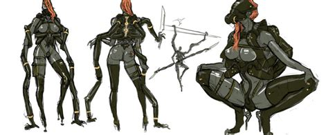 analyzing fallout 4 concept art aliens boss enemies revengeance concept art is metal gear solid hardcore gamer