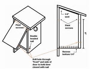bluebird house plans bluebird nest box plans outdoors