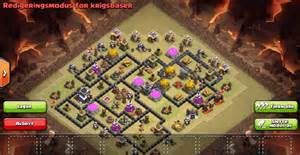 Top 5 Th 9 War Base Designs Coc 4 Mortars 171 Adw Title Ad4 Hacked » Home Design 2017