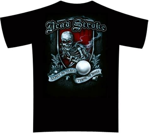 Kaos Polokerah Dead Pool Big Size 2xl 3xl 4xl dead stroke pool t shirt no mercy mueller s billiard dart supplies