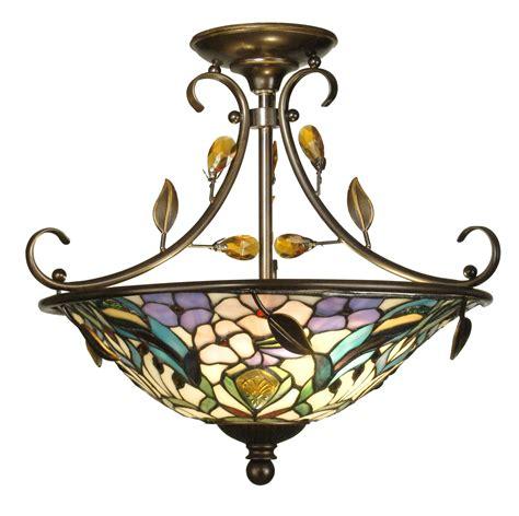 semi flush ceiling fan colonial style ceiling fans semi flush tiffany ceiling