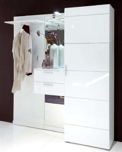 Flur Quadratisch Einrichten by Garderobe Ornella Wei 223 Geradliniges Design Mit