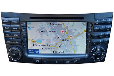 Mercedes Comand by Mercedes Clk W209 Cd Radio Reparatur Navi Reparatur
