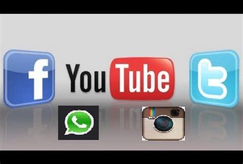 youtube twitter facebook lo bueno de las redes sociales