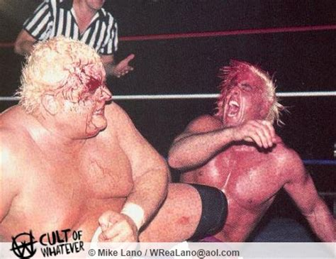 what ifric flair helped dusty rhodes after the cage match hard times come again no more saying goodbye to the