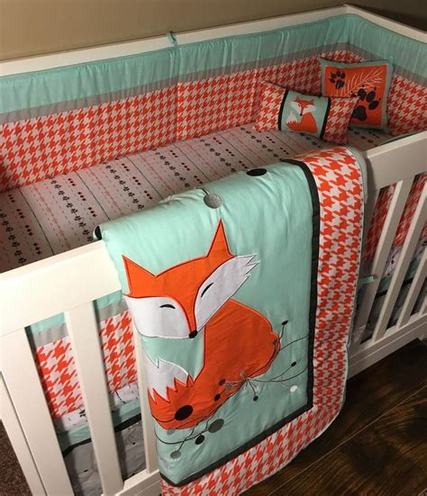 Fox Baby Bedding Sets Best 25 Crib Bedding Ideas On Pinterest Crib Crib Bumpers And Crib Decoration