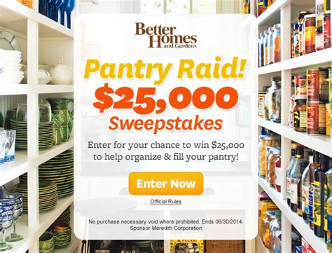 bhg sweepstakes adchoices