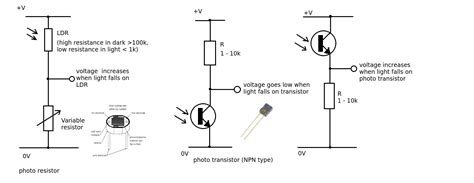 photoresistor transistor switch use photoresistor as switch 28 images using cds photoresistor photocell tutorial exle of a