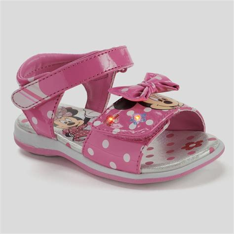 disney sandals disney minnie mouse toddler sandals light up sz